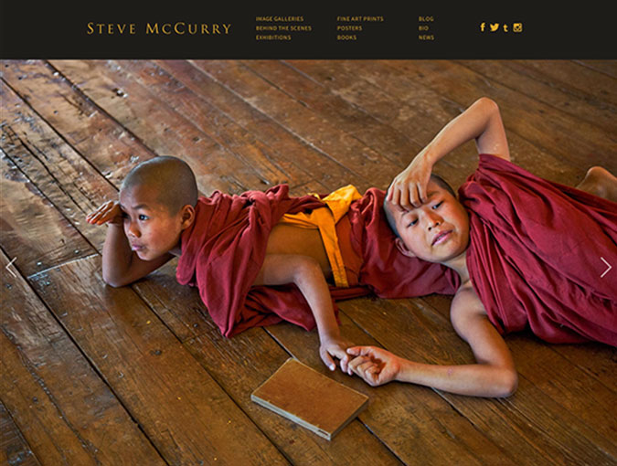 Steve McCurry Website
