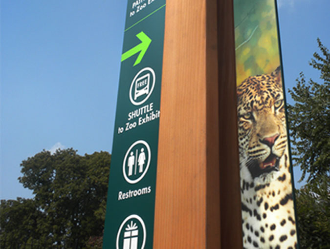 Maryland Zoo Wayfinding System
