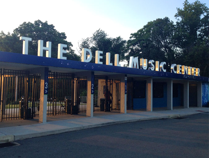 The Dell Music Center Signage and Experience Enhancements