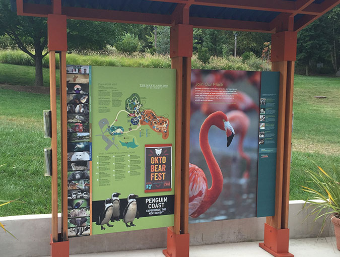 Used Cars Baltimore >> Maryland Zoo Wayfinding System - Gecko Group - Gecko Group