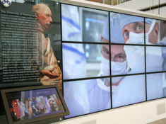 University of Pennsylvania | Perelman Center for Advanced Medicine  | Atrium Exhibit